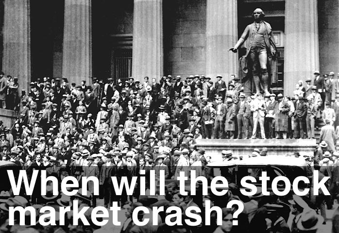 image of when will the stock market crash