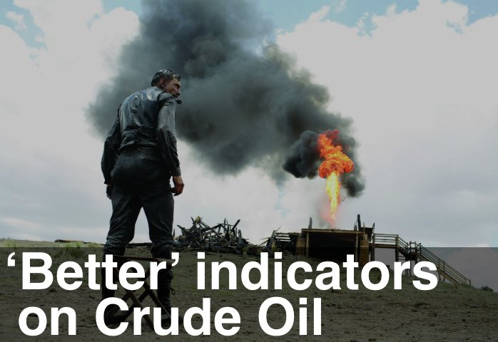 image of Better indicators on crude oil