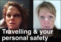 image of travelling and personal safety