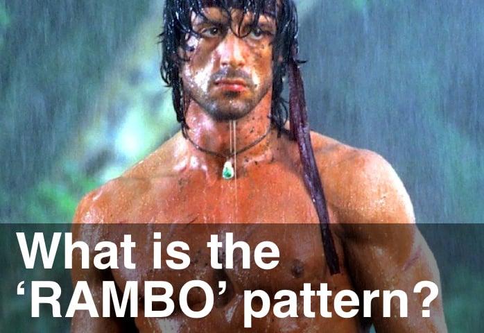 image of rambo pattern