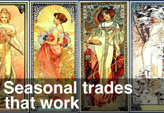 image of stock market seasonal trades