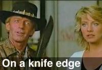 Emini On a Knife Edge