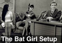 image of bat girl setup