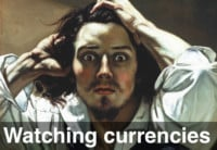 Watching Currencies … Yen, Euro and Aussie on the Ledge