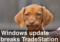 image of windows update breaks tradestation